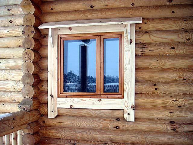 Оконные откосы своими руками в деревянном доме