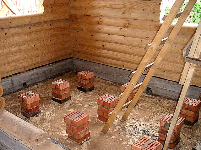 Как своими руками сделать пол в деревянном доме